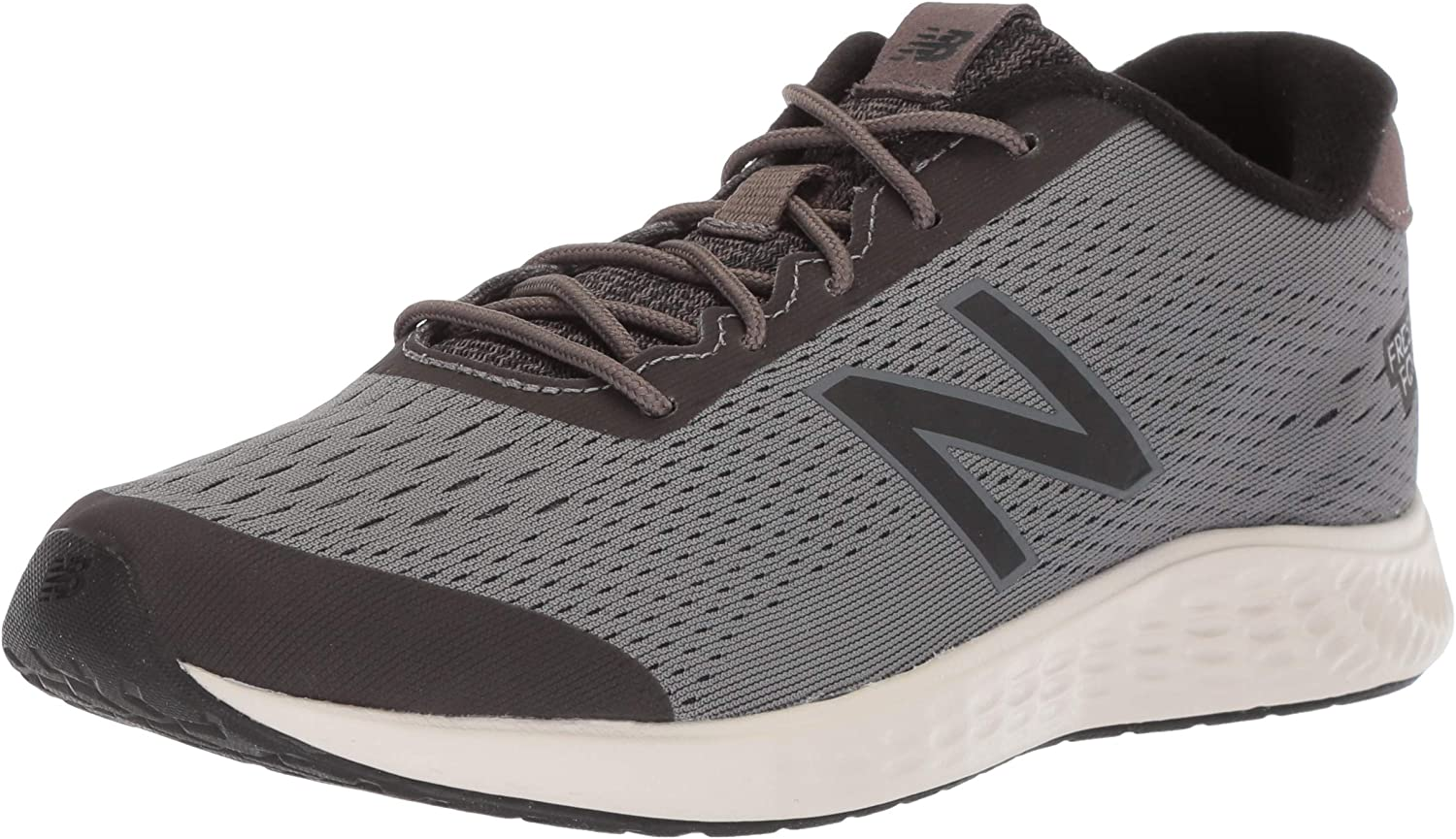 New Balance Boys' Arishi Next V1 Running shoes, Dark Gull Grey Black, 3.5 W US Little Kid