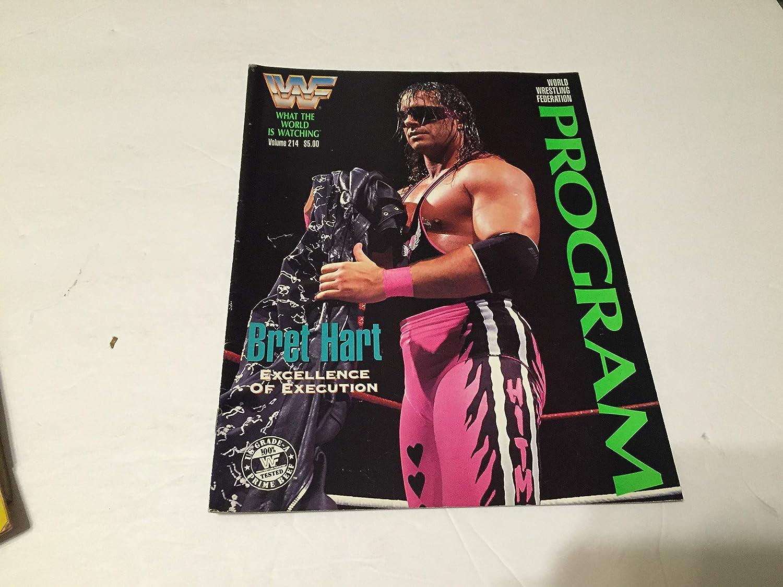 World Wrestling Federation Volume 214 Program Max 81% OFF 40% OFF Cheap Sale