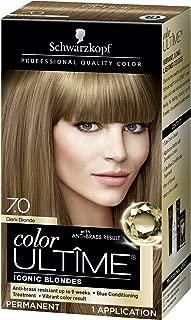 Schwarzkopf Color Ultime Hair Color Cream, 7.0 Dark Blonde (Packaging May Vary)