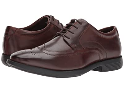 Nunn Bush Decker Wingtip Oxford with KORE Walking Comfort Technology (Brown) Men