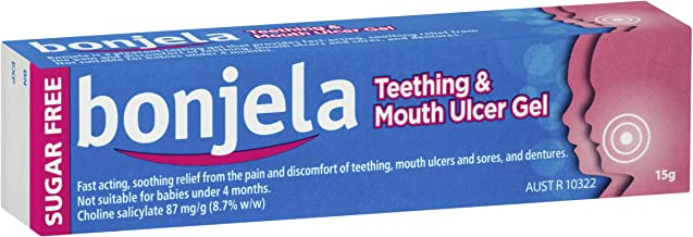 Bonjela Teething and Mouth Ulcer Gel Fast Acting 15g