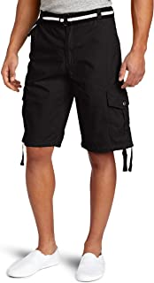 Southpole Men's All-Season Belted Ripstop Basic Cargo Short