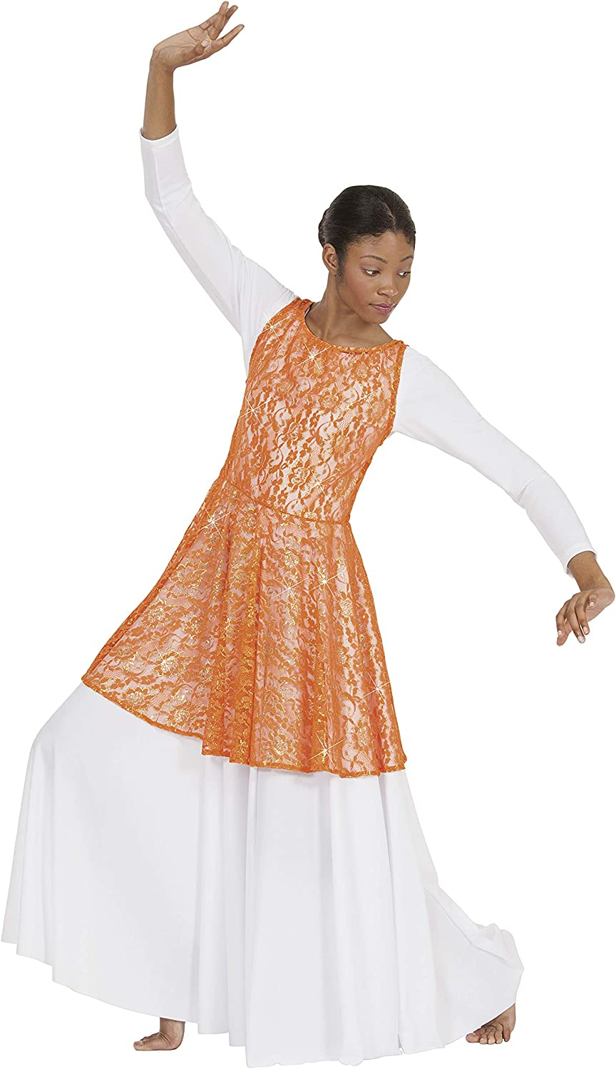 Eurotard 65568 List price Adult Lace Our shop most popular Heavenly Tunic