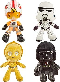 4-Pack Mattel Star Wars Hoth Battle Plush 8