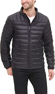 Tommy Hilfiger Men's Lightweight Water Resistant Packable Down Puffer Jacket (Regular and Big & Tall)