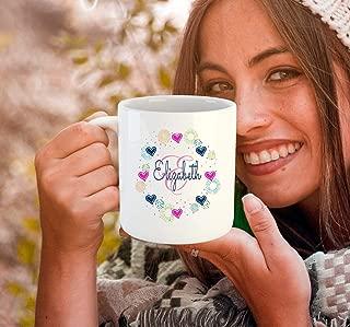 Monogram Elizabeth coffee mug monogram mug monogrammed mug monogram cup monogrammed