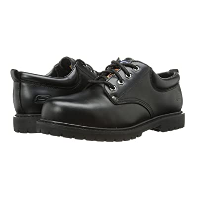 SKECHERS Work Cottonwood Cropper (Black) Men