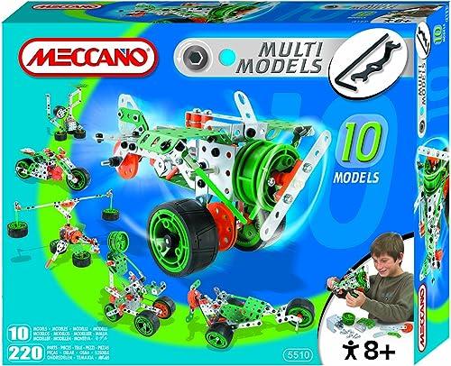 diseñador en linea Meccano 835510 - 10 10 10 Model Set  la mejor selección de