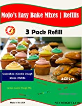 Mojo Stuff Galore Easy Bake Ultimate Oven Bubblegum and Strawberry Cakes Refill Packs