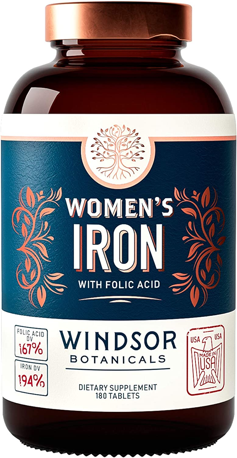 Iron Supplement for Women 5 ☆ very popular - Pregnancy Menstruation I and Support famous
