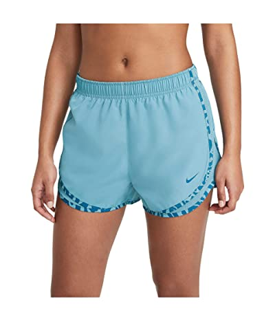 Nike Tempo Shorts (Cerulean/Cerulean/Green Abyss) Women