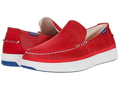 Cole Haan Cloudfeel Slip-On Sneaker (Flame Scarlet Nylon/White) Men