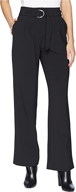 Belted Woven Pants