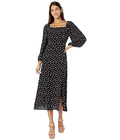 Sanctuary Lindsey Square Neck Dress (Wildflower Black) Women