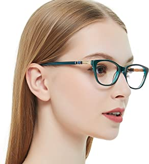 0136188d0c OCCI CHIARI Women Casual Eyewear Frames Non-Prescription Clear Lenses  eyeglasses