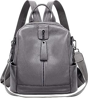 ALTOSY Fashion Genuine Leather Backpack Purse Shoulder Bag for Women