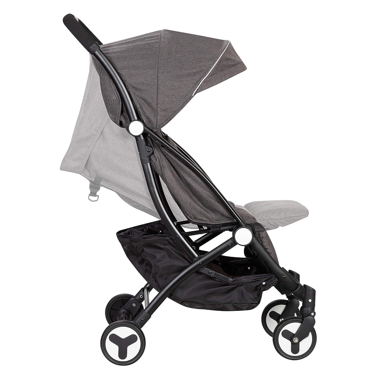 Baby Trend Travel Tot Compact Stroller, Black Stardust