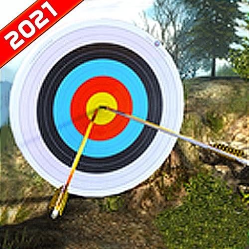 Bogenschießen Schießspiele - Ultimative Bogenschießen Krieg FPS Schießen 3D-Spiele - Robin Hood Elite Bogenschießen Meister Simulator 2021 - Ninja Assassin Bogenschießen Bogenmeister Champ Epischer FP