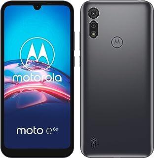 "Motorola Moto e6s (Pantalla 6,1"" HD+, Procesador MediaTek Helio P22, 2GHz Octa-Core, cámara Dual de 13MP, batería de 3000 mAH, Dual SIM, 2/32GB, Android 9), Gris"