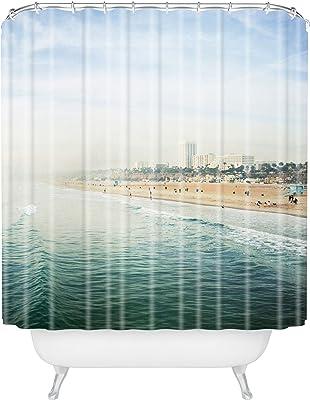 """Deny Designs Bree Madden Santa Monica Shower Curtain, 69"""" x 72"""""""