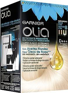Garnier Olia Decolorante Permanente sin Amoniaco con Aceites Florales de Origen Natural Decolorante D+++ Decolorante Pe...