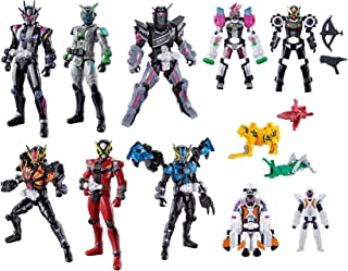 Bandai Kamen Rider Zi-O RKF Rider Armor Series Zi-O Action Figure Zi-O II & Geiz & Geiz Revive & Woz & Ghost / Fourze / OOO / Ex-Aid / Decade Armor & Fourze Rider Hero Series 06 Figure Set of 10