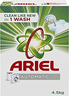 Ariel Automatic Powder Laundry Detergent, Original Scent, 4.5 KG