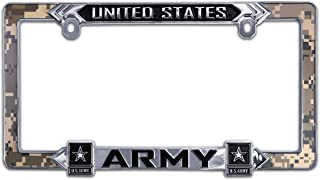 Elektroplate United States 3D Army License Plate Frame