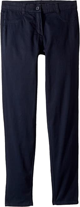 Stretch Five-Pocket Sateen Pants (Big Kids)