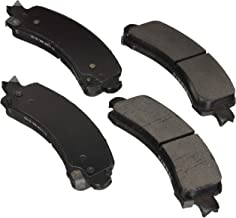 Bosch BE974AH Blue Disc Brake Pad Set with Hardware for Select Full-Size Cadillac, Chevrolet, and GMC Trucks, Vans, and SUVs - REAR