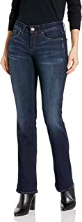 Silver Jeans Co. Women`s Suki Curvy Fit Mid Rise Slim Bootcut Jeans
