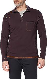 Joe Browns Men's Full of Passion Funnel Sweatshirt, A-Plum