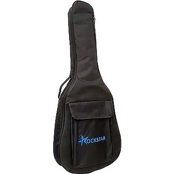 Funda para guitarra clásica española ROCKSTAR SOLC407C acolchada ...