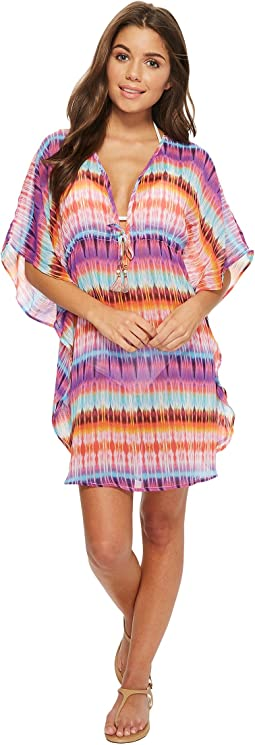 Bleu Rod Beattie - Dream Weavers Caftan Cover-Up