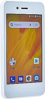 Smartphone MS40G 3G 4 512Mb RAM + 8 GB Android 8.1 Dual Câmera 5MP+2MpPBranco Multilaser - NB729
