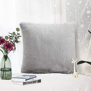 Best grey faux fur pillow Reviews