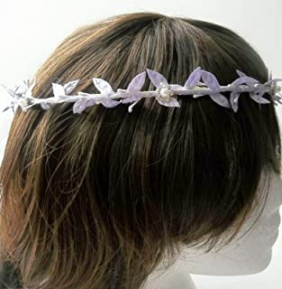 Stefania,lilac Stefana Wedding headpieces,gift for the couple,Greek Orthodox Wreaths,bridal crowns