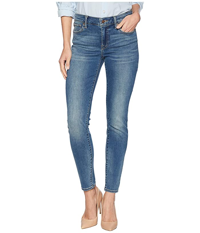 Lucky Brand  Ava Mid-Rise Super Skinny Jeans in Waterloo (Waterloo) Womens Jeans