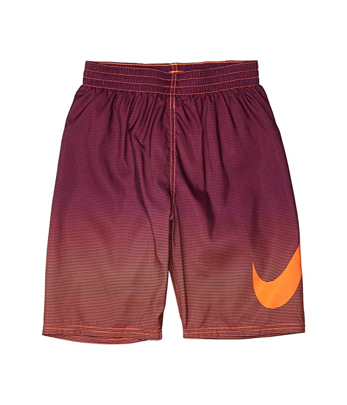Nike Kids  8 Atmosphere Swoosh Volley Shorts (Little Kids/Big Kids) (Total Orange) Boys Swimwear