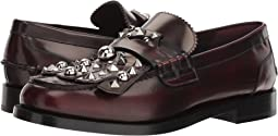 Burberry Studded Fringe Loafers