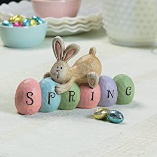 Spring Bunny Tabletopper Easter Decorations - hand painted - Farmhouse Home Decor