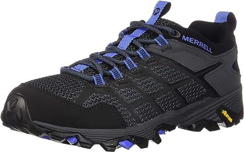 Merrell Wohommes Moab FST 2 Hiking chaussures, noir Granite, 08.5 M US