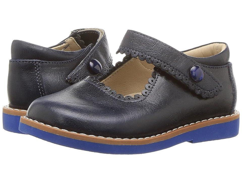 Elephantito Mary Jane (Toddler/Little Kid/Big Kid) (Lapiz Blue) Girls Shoes