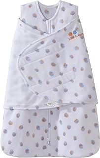 Halo Sleepsack Swaddle, Micro-fleece, Blue/Orange, Small