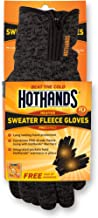 HotHands Unisex Sweater Fleece Gloves-Small/Med