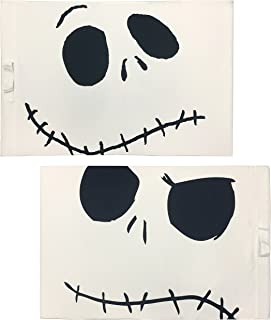 Disney Nightmare Before Christmas Jack's Face 2-Pack Pillowcase/Trick-or-Treat Bag