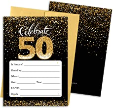 50th birthday invitation card