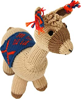 Cotton Llama Stuffed Animal - A Hand Made, Fair Trade Toy From Peru