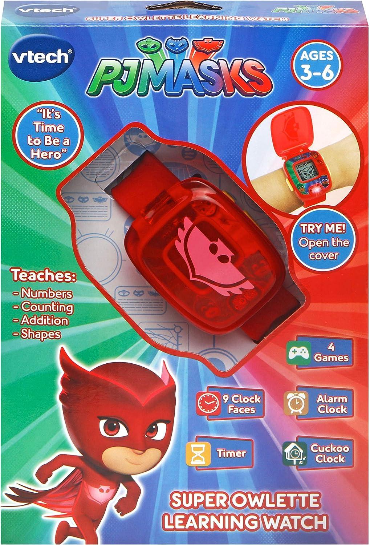 VTech Juguete Owlette PJ Masks Watch 175853 : Amazon.es ...
