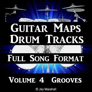 Groove Rock Drum Track 80 BPM Bass Guitar Backing Beat #284